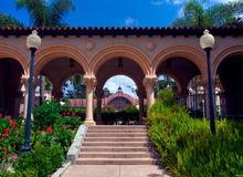 Casa de Balboa arches Stock Images