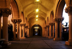 Casa De Balboa interior pass Royalty Free Stock Photography