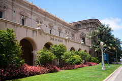 Casa de Balboa in San Diego Stock Photography