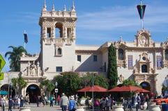 The Casa de Balboa in San Diego. stock image