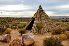 Casa de bambú Foto de archivo libre de regalías