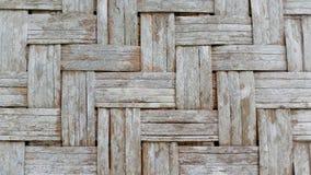 Casa de bambú de la pared Imagen de archivo libre de regalías