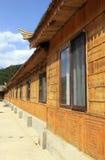 Casa de bambu fotografia de stock royalty free