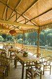 Casa de bambu Fotografia de Stock