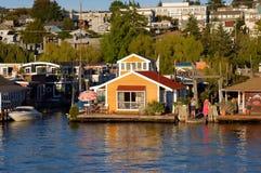 Casa de barco Imagem de Stock