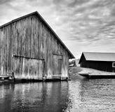 Casa de barco Imagem de Stock Royalty Free