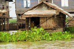 Casa de barco del pescador Foto de archivo libre de regalías