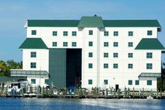 Casa de barco grande Fotografía de archivo libre de regalías