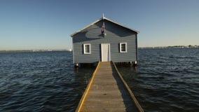 Casa de barco de Perth video estoque