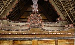 Casa de Batak em Sumatra Foto de Stock