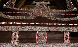 Casa de Batak en Sumatra Fotografía de archivo libre de regalías