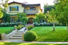 Casa de Beverly Hills Imagenes de archivo