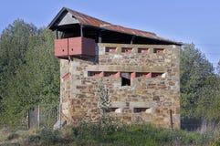Casa de bloco da guerra do Anglo-Boer Fotografia de Stock Royalty Free