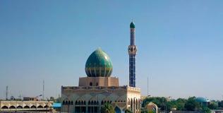 Casa de Bnieh de la mezquita (haj Bnieh) Foto de archivo libre de regalías