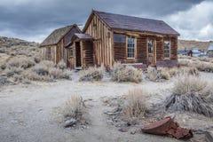 Casa de Bodie Ghost Abandonado a casa Imagen de archivo