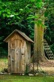 Casa de bomba de madeira Foto de Stock Royalty Free