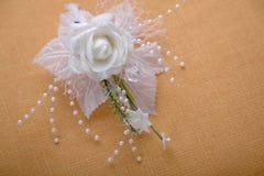 Casa de botão do casamento Imagem de Stock Royalty Free