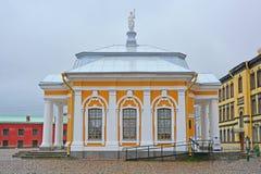 Casa de Botny en Peter y Paul Fortress en St Petersburg, Rusia Imagen de archivo libre de regalías