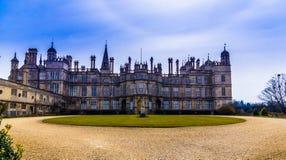 Casa de Burghley Fotografia de Stock Royalty Free