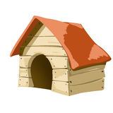 Casa de cães Fotografia de Stock Royalty Free