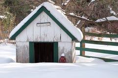 Casa de cão. Imagens de Stock