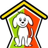Casa de cão ilustração stock