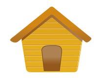 Casa de cão Imagens de Stock Royalty Free