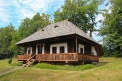 Casa de Cacica no museu da vila de Suceava Imagens de Stock