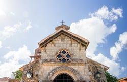 Casa de Campo教会 库存照片