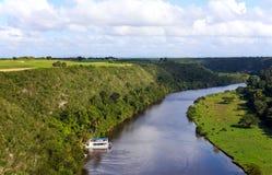Casa de Campo河在多米尼加共和国 免版税图库摄影