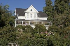 Casa de campo Imagen de archivo libre de regalías