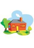 Casa de campo Imagens de Stock