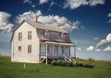 Casa de campo Fotografia de Stock Royalty Free