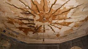 Casa de campo abandonada - Grécia fotografia de stock