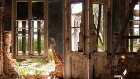 Casa de campo abandonada - Grécia fotografia de stock royalty free