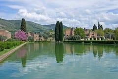 Casa de campo Adriana, Tivoli, Lazio, Italy Foto de Stock