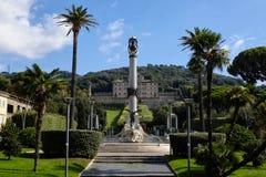 Casa de campo Aldobrandini em Frascati imagens de stock royalty free