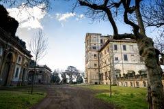 Casa de campo Aldobrandini em Frascati Teatro das águas Indicadores velhos bonitos em Roma (Italy) imagens de stock royalty free