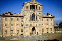 Casa de campo Aldobrandini em Frascati Teatro das águas Roma, Lazio, Itália fotografia de stock royalty free
