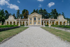 Casa de campo Barbaro, Maser, Treviso imagens de stock