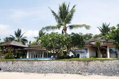 A casa de campo beira-mar Imagem de Stock Royalty Free