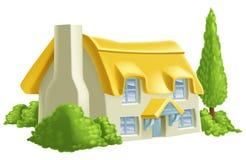 Casa de campo bonita do país Imagens de Stock Royalty Free