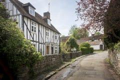 Casa de campo bonita em Kent, Reino Unido fotos de stock
