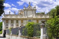 Casa de campo Borghese em Roma fotografia de stock royalty free