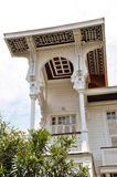 Casa de campo branca Imagens de Stock Royalty Free