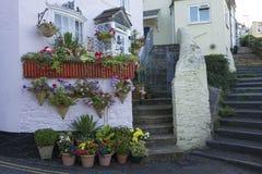 Casa de campo Brixham Devon England Reino Unido Foto de Stock Royalty Free