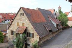 Casa de campo catita do backstreet Imagem de Stock Royalty Free