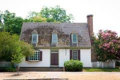 Casa de campo colonial Fotografia de Stock Royalty Free