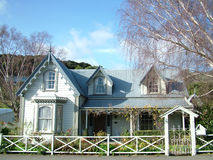 Casa de campo colonial Imagem de Stock Royalty Free
