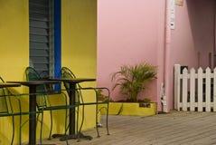 Casa de campo colorida das férias do console Imagem de Stock